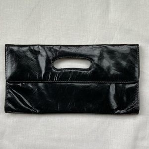 HOBO leather clutch
